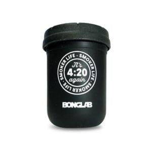 Bonglab Re: Stash Jar 8 Oz Negro
