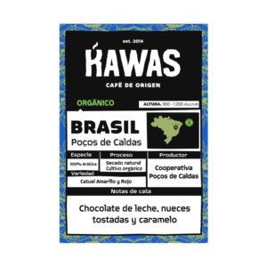 KAWAS – Café Brasil Poços de Caldas Orgánico 250 Gr