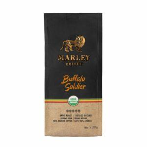 MARLEY COFFEE – Café grano molido Buffalo Soldier 227 g