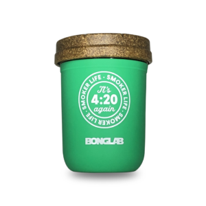 Bonglab Re: Stash Jar 8 Oz Verde