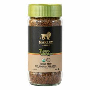 MARLEY COFFEE – Café orgánico liofilizado Positive Vibration 100 g